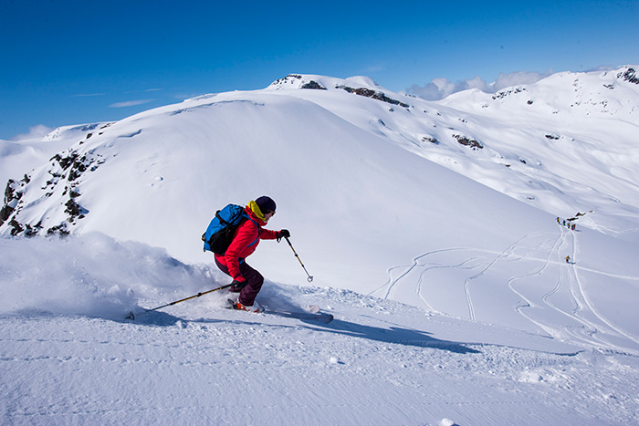 Vinterlandskap och säkerhet